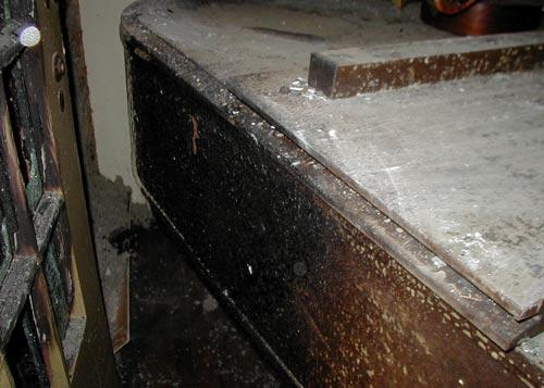 Piano Restoration - Before